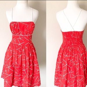 Anthropology Nostalgic Asterisk Dress